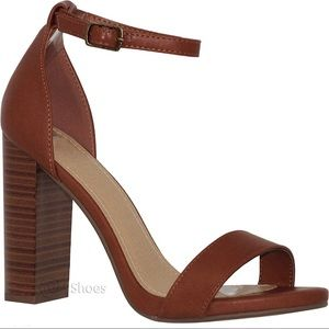 Shoes - 'The Emily' Block Heels In Brown